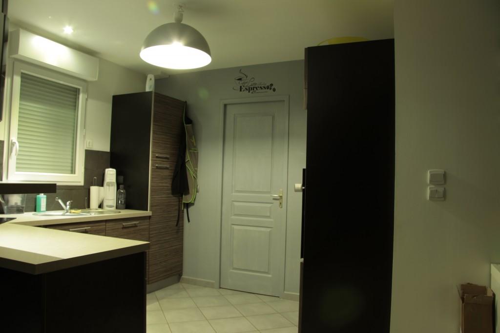 Ma maison au bailleul for Porte garage sectionnelle 300x200